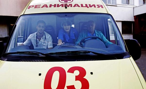 Обокрали машину скорой помощи