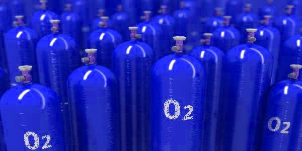 Баллон с кислородом