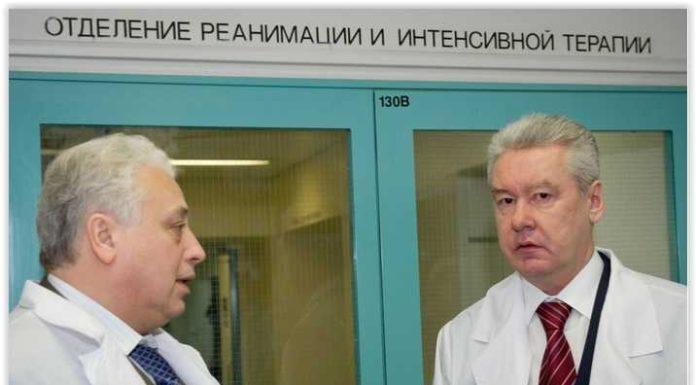 Леонид Печатников (слева) и Сергей Собянин