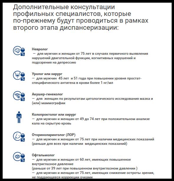 Минздрав РФ предлагает дополнить традиционную диспансеризацию скринингами, в которые войдут анализы и тесты с доказанной диагностической эффективностью, и исключить ряд традиционных анализов. В первую очередь в скринигах упор делается на исследования, выявляющие заболевания, вносящие основной вклад в смертность населения. Об этом рассказал ТАСС главный внештатный специалист Минздрава РФ по профилактической медицине, директор Государственного научно-исследовательском центре профилактической медицины при Минздраве РФ Сергей Бойцов.