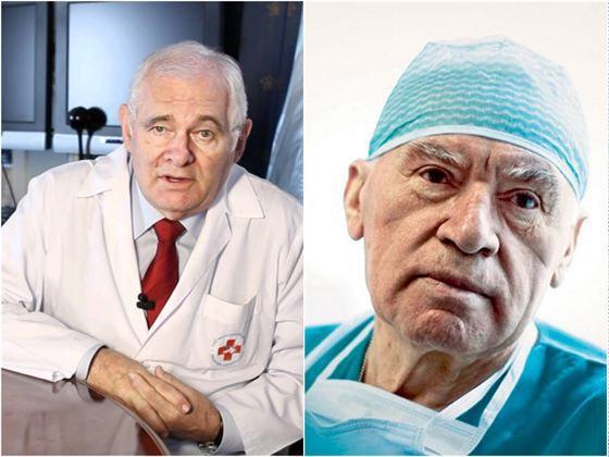 Лео Бокерия и Леонид Рошаль
