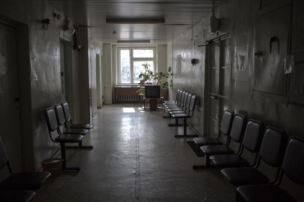 Коридор Даниловской центральной районной больницы, 20 апреля 2017 года Фото: Анна Иванцова
