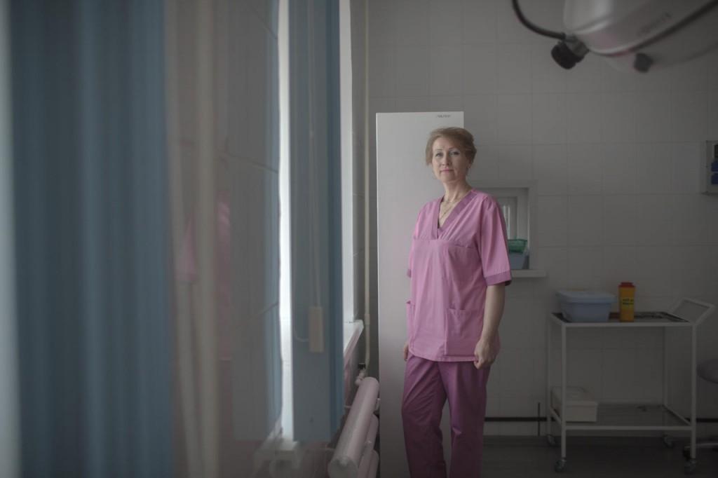 Заведующая гинекологическим отделением Гаврилов-Ямской ЦРБ Ольга Маркевич на рабочем месте, 21 апреля 2017 года Фото: Анна Иванцова