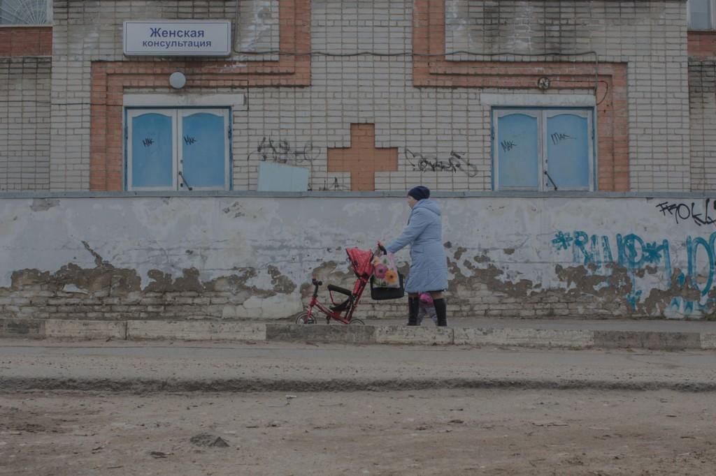 Вид на Даниловскую центральную районную больницу с улицы, 20 апреля 2017 года Фото: Анна Иванцова