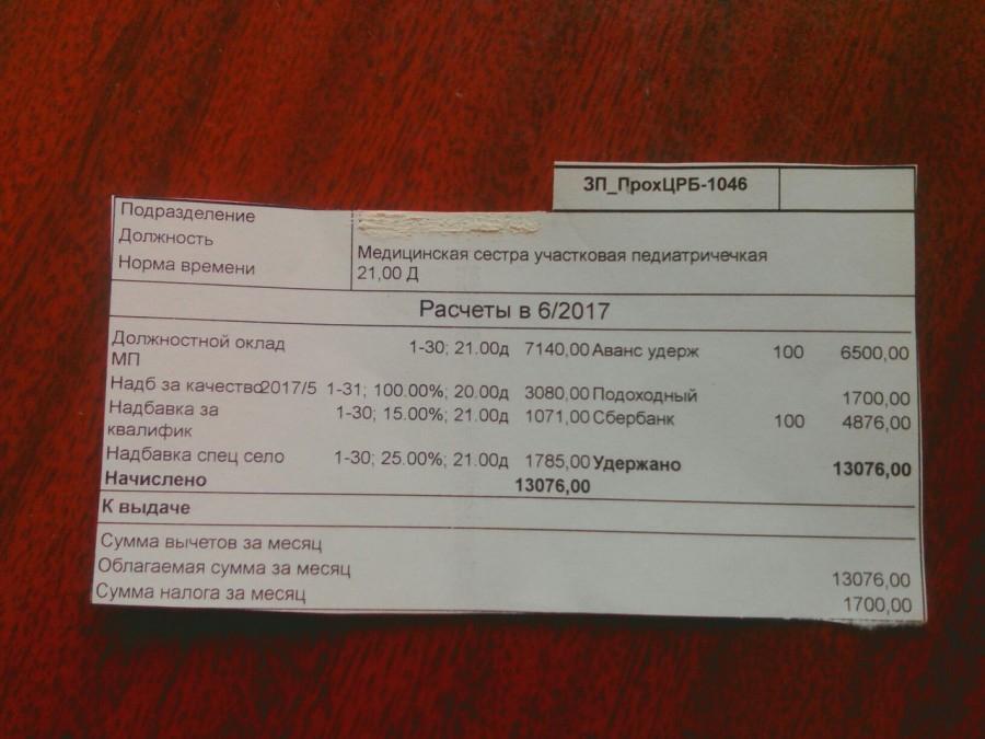 По данным департамента, средняя месячная зарплата врачей в Прохоровской районной больнице (Белгородская область) с января по июнь 2017 года была больше 37 тысяч рублей, а медсестёр — почти 21 тысячу рублей. Блогер Сергей Лежнев попросил региональный департамент здравоохранения и соцзащиты населения провести проверку в Прохоровской центральной районной больнице из-за низких зарплат медсестёр. Редакция «Фонаря» направила соответствующий запрос в облздрав с просьбой прокомментировать факты, приведённые в публикации Сергея Лежнева.