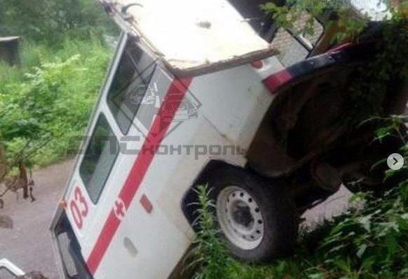 В Приморье произошло ДТП с участием трех машин скорой помощи