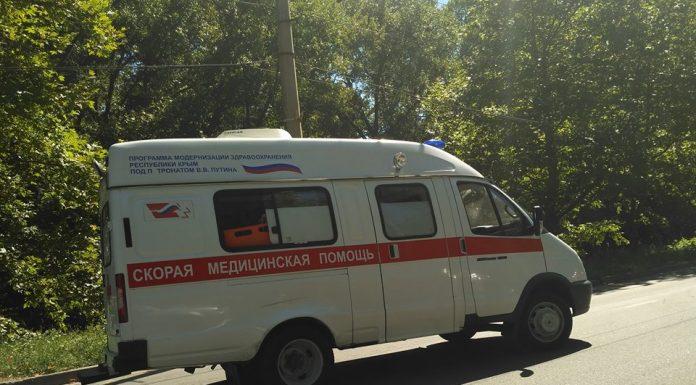 В Симферополе в ДТП попала машина скорой помощи