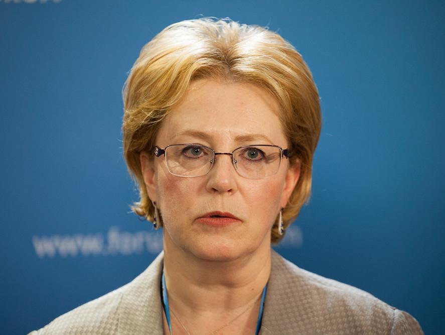 """Вероника Скворцова: """"Чтобы не терять врачебные кадры, им нужно достойно платить"""""""