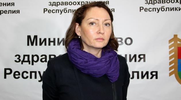 Министр здравоохранения Карелии Ольга Лазаревич уволилась