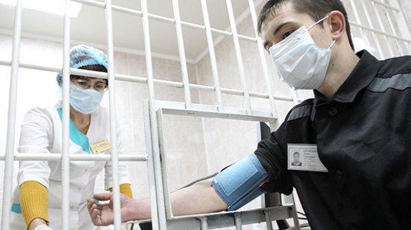 Медпомощью заключённым