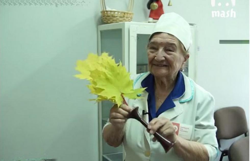 Самому опытному гинекологу России — 94 года