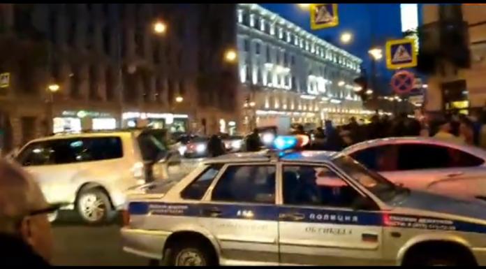 Во время протестов в Петербурге врачи не успели к умирающей женщине