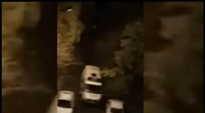 Появилась запись избиения водителя «скорой помощи» в Пушкине