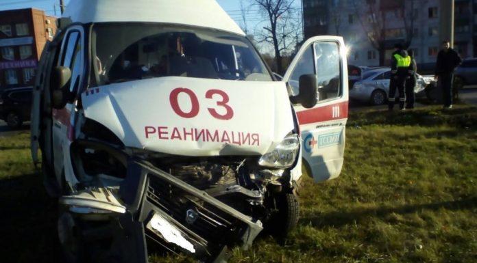 В Тольятти в ДТП пострадали сотрудники скорой помощи