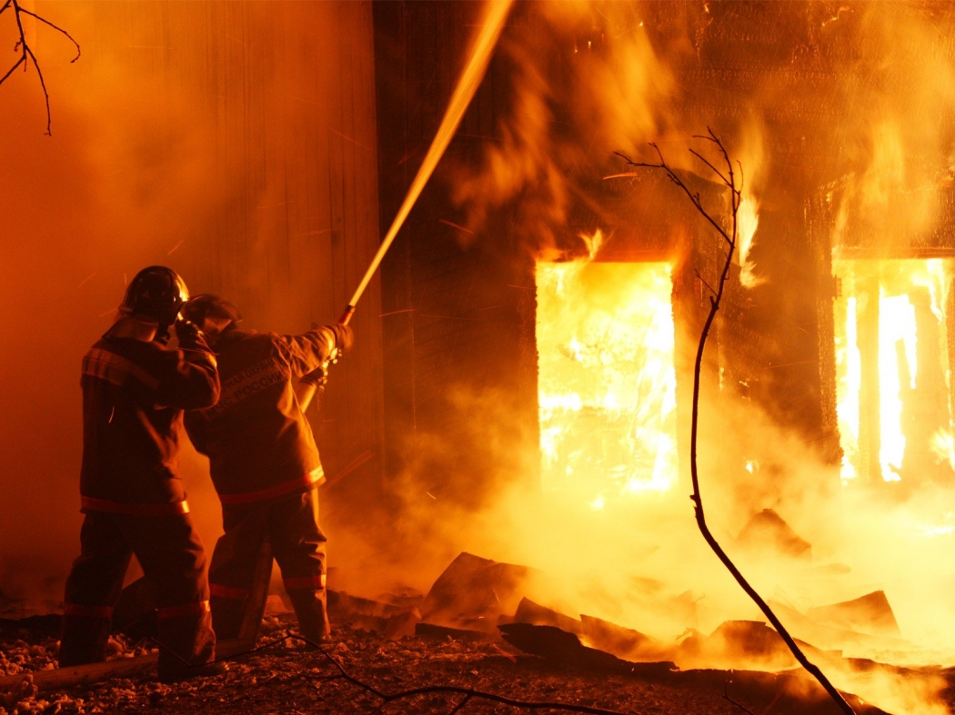 В Приморье при пожаре в госпитале для ветеранов пострадала медсестра