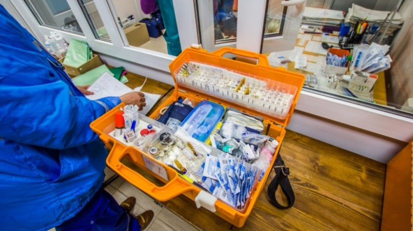 В Рязанской области из машины скорой украли фельдшерскую сумку