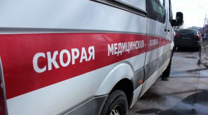 В Ульяновской области машина скорой помощи вылетела в кювет после столкновения с грузовиком