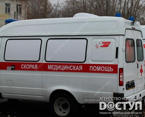 В Челябинске полицейский привлёк к административной ответственности водителя скорой за перекрытую дорогу