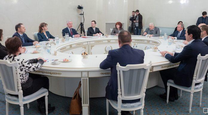 Мэр Москвы Сергей Собянин встретился с участниками кадрового проекта «Лидер.Мед»