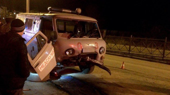 Под Орлом в ДТП со скорой пострадали пять человек
