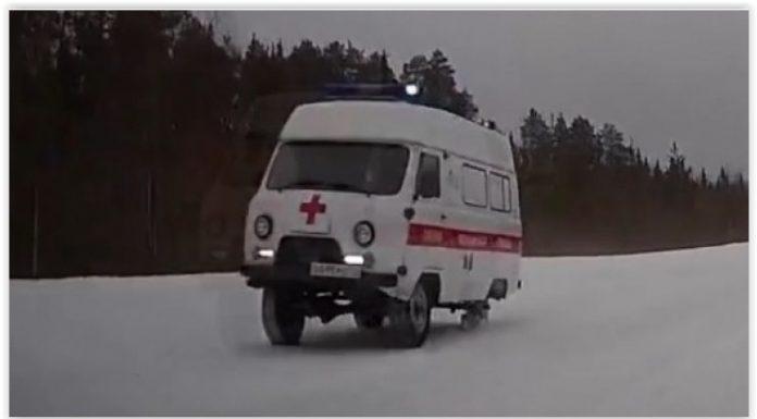 В Коми на срочный вызов скорая помощь ехала без одного колеса