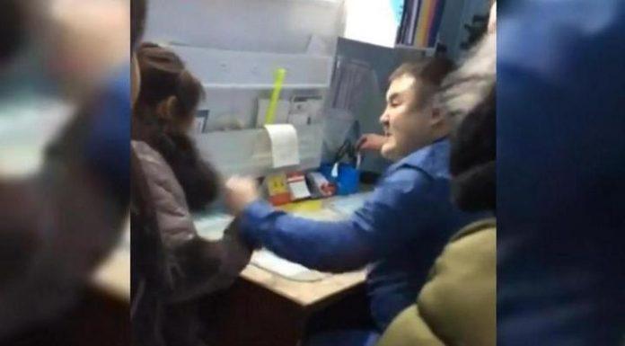 В Якутии врач избил женщину, которая пришла снимать его же побои