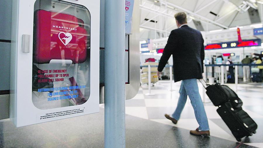 Минздрав планирует установить дефибрилляторы в общественных местах