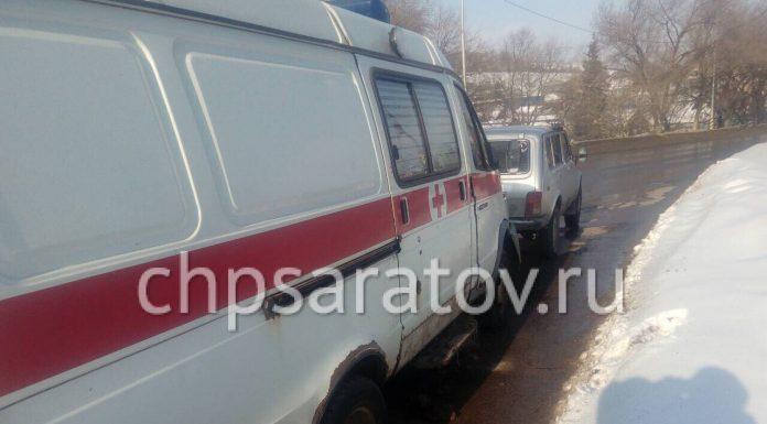 В Саратове В ДТП со скорой пострадала пациентка