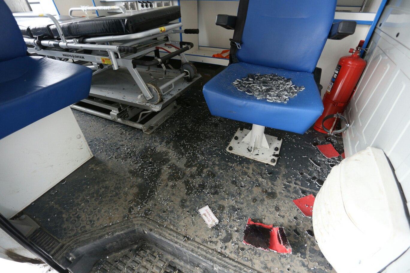 Челябинский фельдшер рассказал подробности обстрела скорой помощи