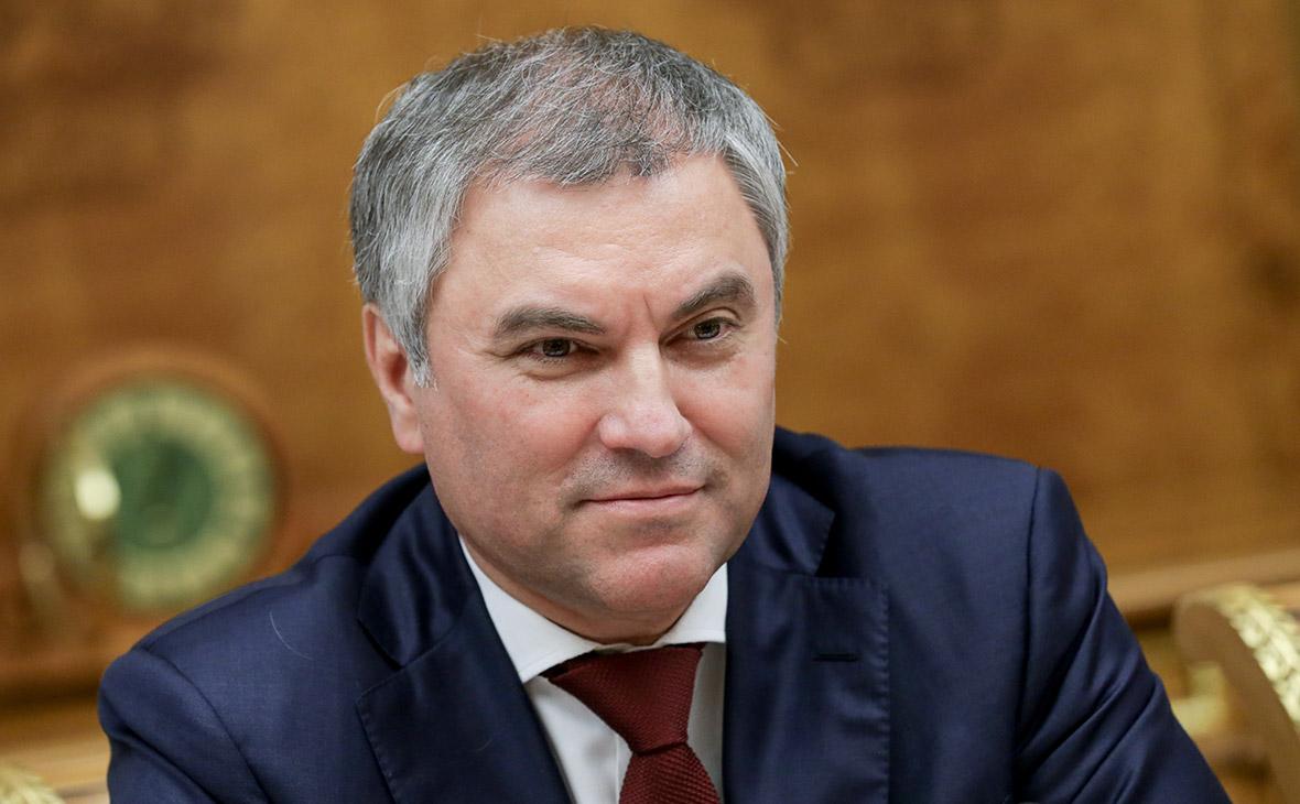 Володин поручил Госдуме доработать законопроект о защите медиков