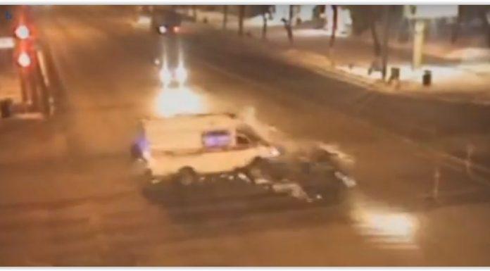 В Перми задержали скрывшего с места ДТП со скорой водителя легковушки