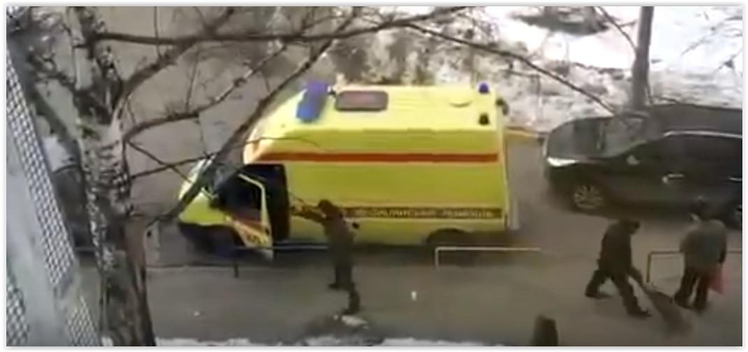 Казанец напал на водителя скорой помощи с газовым баллончиком