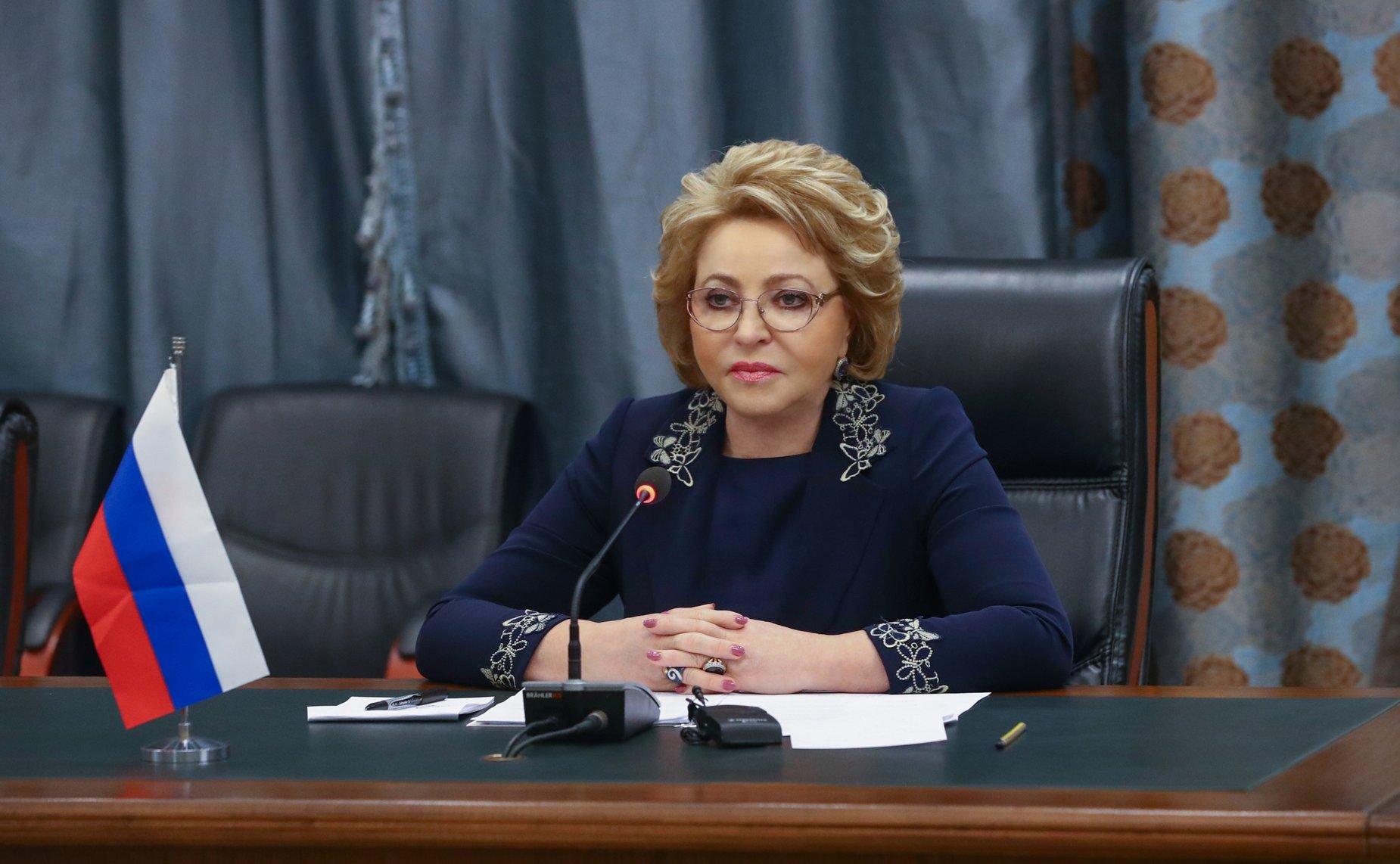 Матвиенко: Необходимо улучшить систему финансирования медпомощи