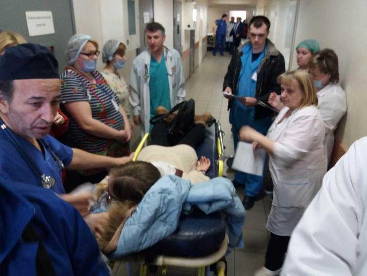 Петербургские врачи к ЧМ тренируются спасать пострадавших с антидотом для «Новичка»