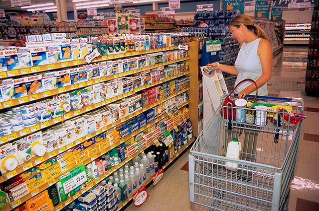 Минпромторг доработал законопроект о продаже безрецептурных лекарств в продуктовых магазинах
