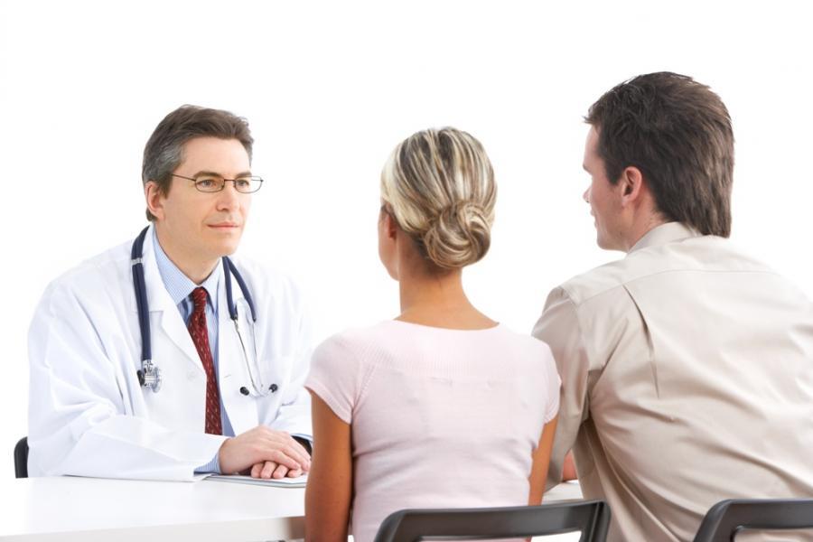 на обследовании перед беременностью