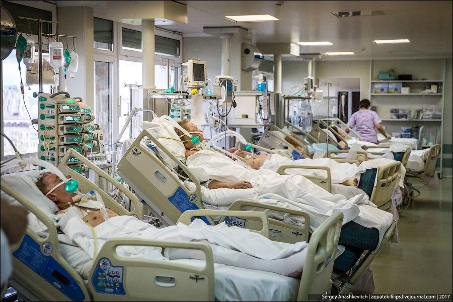 Установку видеокамер в реанимационных отделениях обосновали заботой о пациентах
