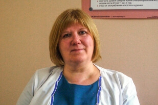 Врач общей практики Татьяна Филатова
