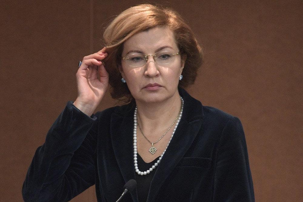 Глава ФОМС Наталья Стадченко