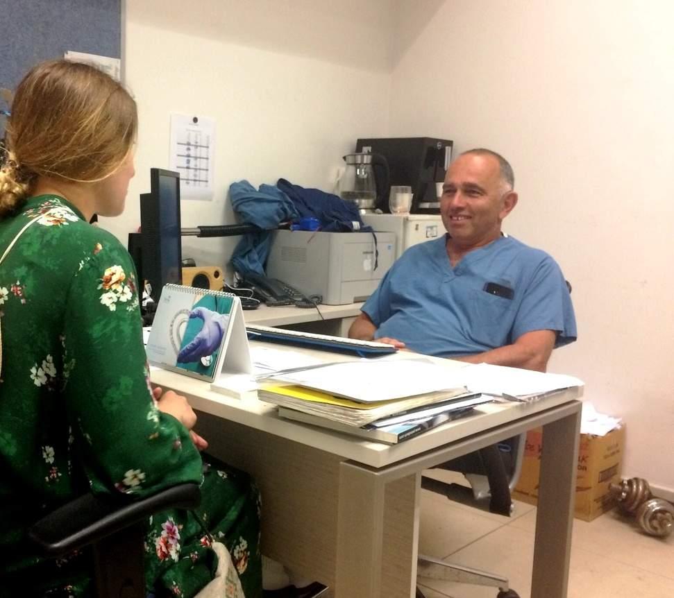 Старший детский хирург государственной больницы «Ихилов» в Тель-Авиве Сергей Кадыров