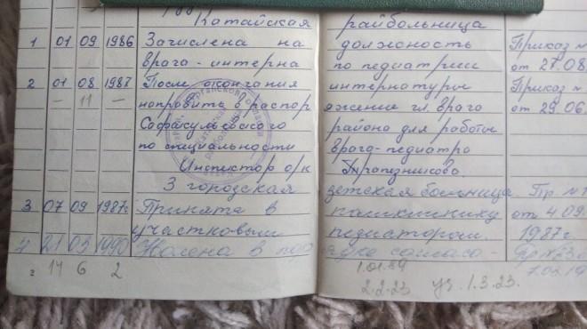 Красноярский врач Ирина Головина, проработавшая много лет в медицине, осталась без начисления пенсии за свой длинный трудовой стаж, передаёт ТВК. Причиной этого стал пожар, который унёс архивные сведения о её зарплате в молодые годы.