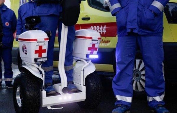 В Екатеринбурге медики скорой помощи встанут на сигвеи