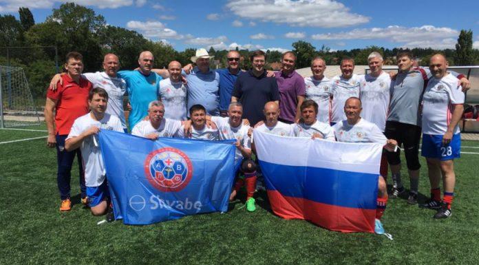 Сборная России по футболу среди врачей стала вице-чемпионом мира
