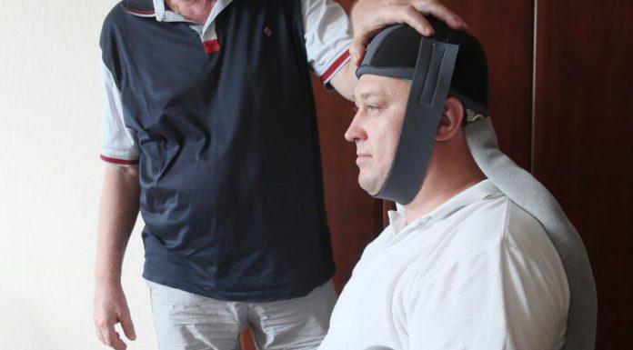 Охлаждающий шлем