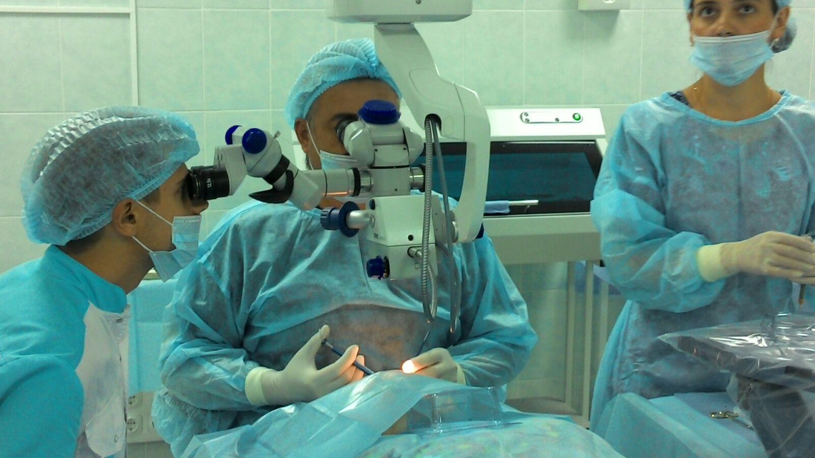 Рязанские врачи спасли зрение ребёнку с тяжёлой травмой глаза