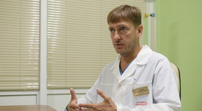 Главврач областного челябинского перинатального центра Юрий Семёнов