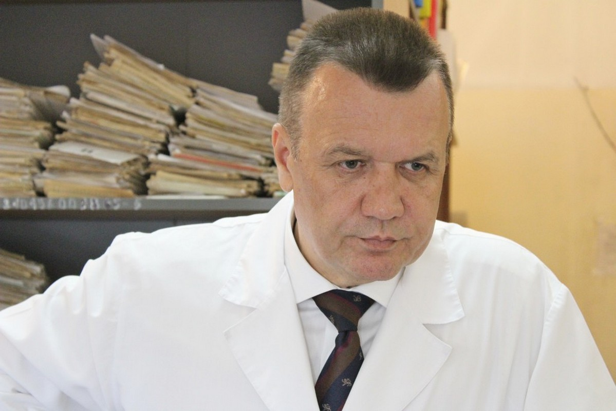 Министр здравоохранения Забайкальского края врач-травматолог Сергей Давыдов