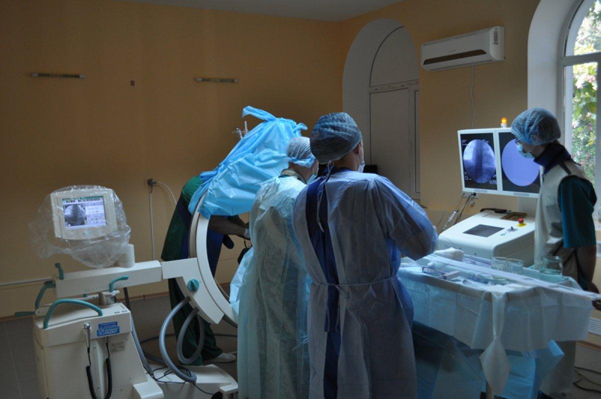 Свердловские рентгенохирурги прооперировали огромную аневризму сосудов головного мозга
