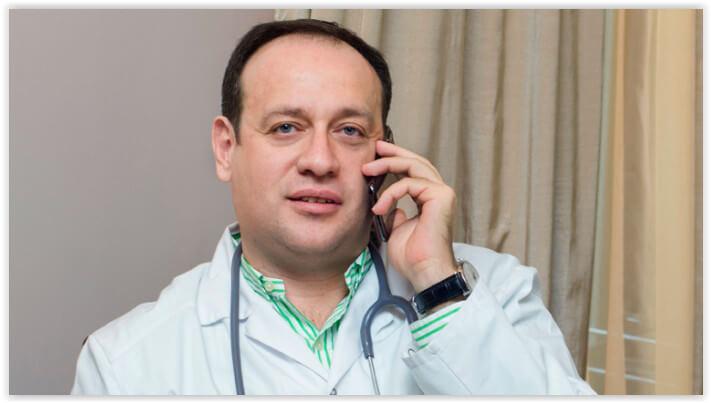 Гендиректор столичной сети клиник Medswiss Михаил Тишман