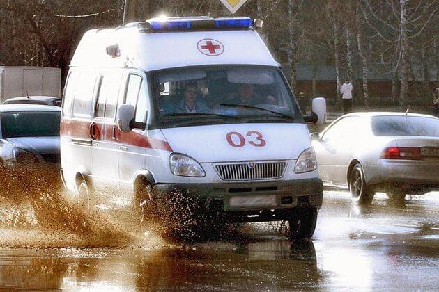 На Камчатке произошло ДТП с участием «скорой», ехавшей к ребёнку